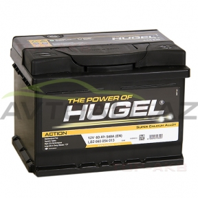 Hugel 60Ah L+  Action