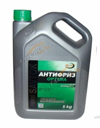 Antifiriz SAVTOK OPTIMA GREEN 5L