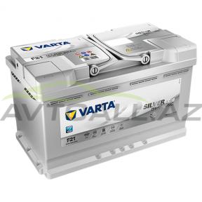 Varta 80Ah  R+   AGM F21 Start-Stop