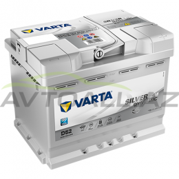Varta 60Ah R+  AGM   D52  Start-Stop